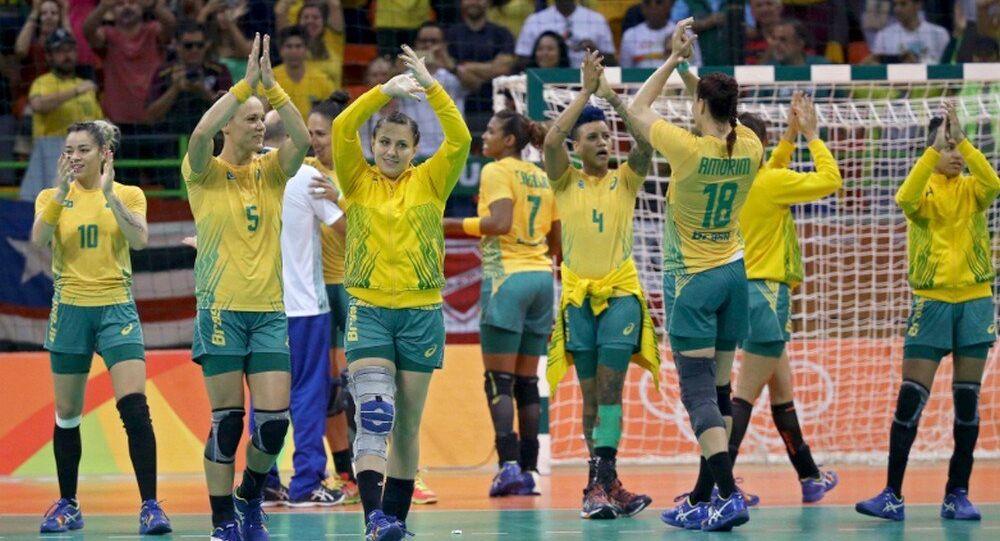 Handebol Feminino: Brasil vence Montenegro no encerramento da primeira fase