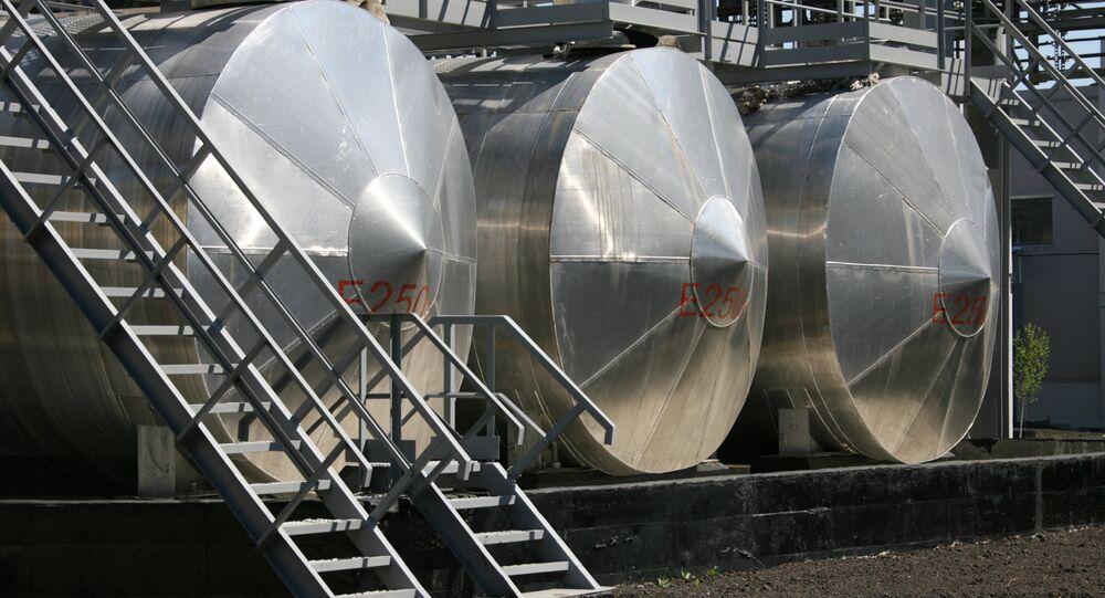 Complexo para eliminação de armas químicas na cidade de Schuchie, Rússia (foto de arquivo)