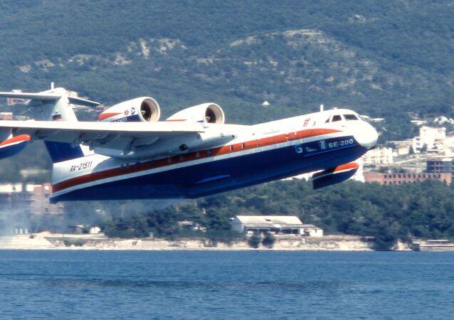 Avião Be-200 (foto de arquivo)
