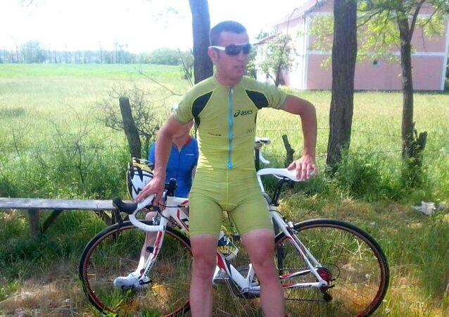 Atleta do Kosovo Qendrim Guri sofre acidente no Rio