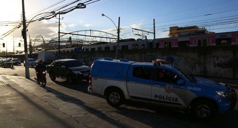 Viatura da Polícia Militar do RJ (arquivo)