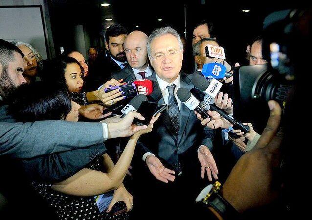 Renan confirma para esta quarta reunião para definir rito do impeachment
