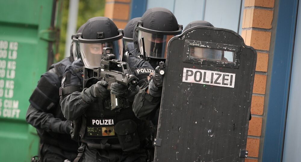 A polícia da Alemanha
