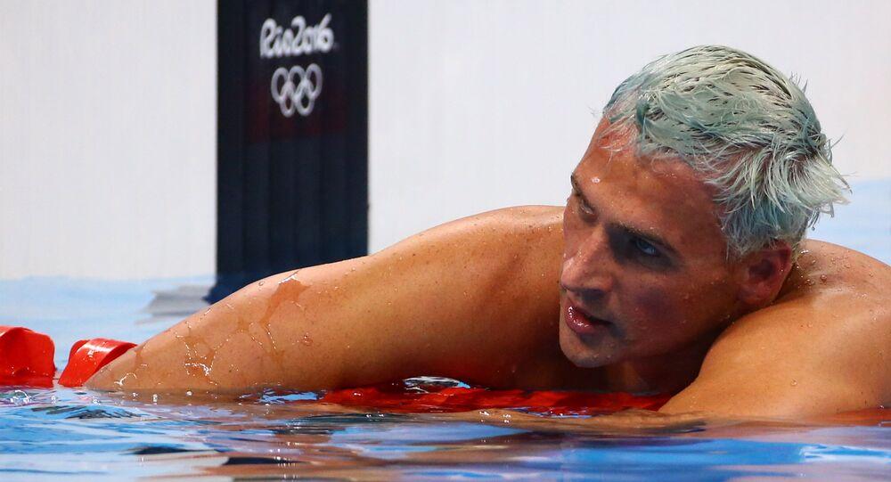 Nadador dos EUA Ryan Lochte