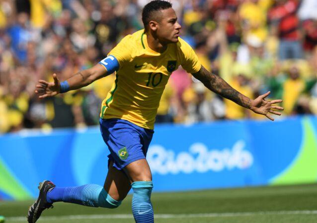 Neymar foi a grande estrela da vitória do Brasil sobre Honduras nesta quarta-feira
