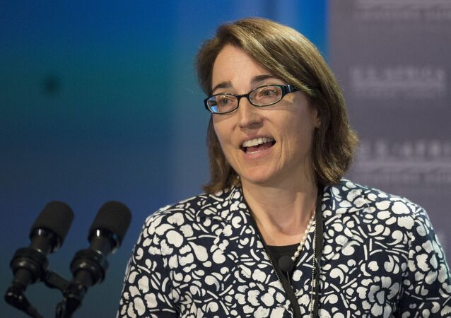 Sarah Sewall, subsecretária de Estado americana para Segurança Civil, Democracia e Direitos Humanos (arquivo)