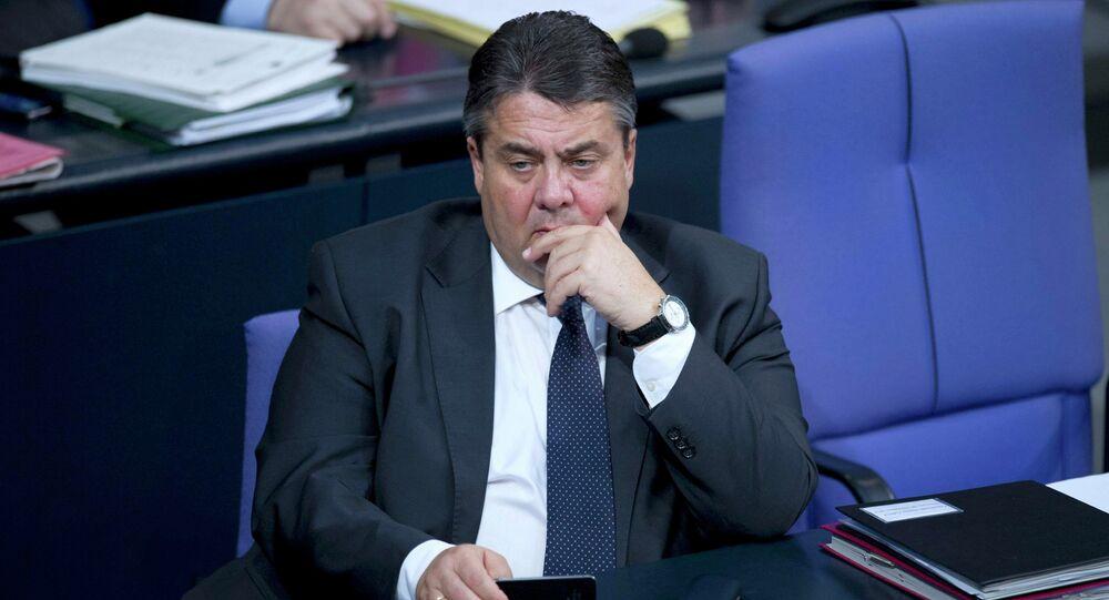 Sigmar Gabriel, ministro de Economía y Energía de Alemania