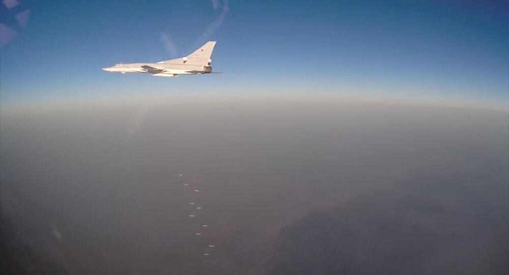 Aviação russa ataca terroristas na Síria
