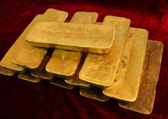 Ouro das reservas internacionais