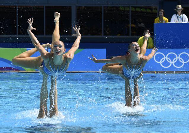Equipe russa de nado sincronizado