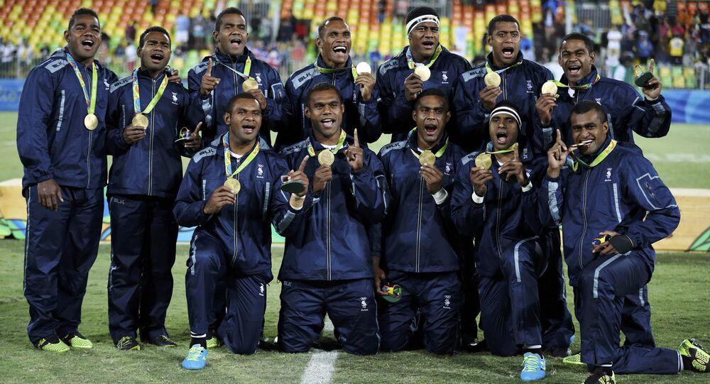 Time de Rugby do Fiji