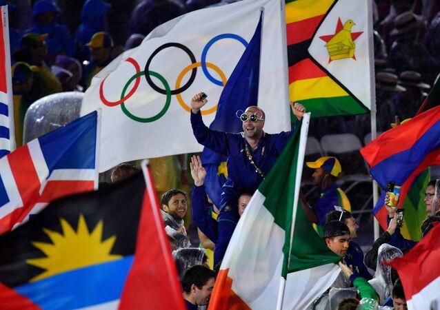 Festa de encerramento dos Jogos Olímpicos Rio 2016
