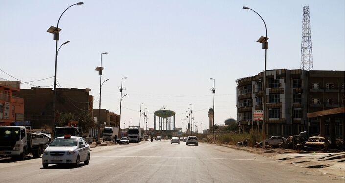 A cidade de Ramadi após libertação