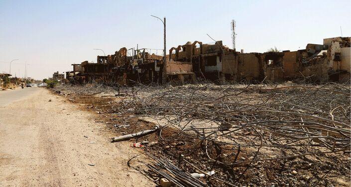80% da cidade de Ramadi foi destruída por terroristas