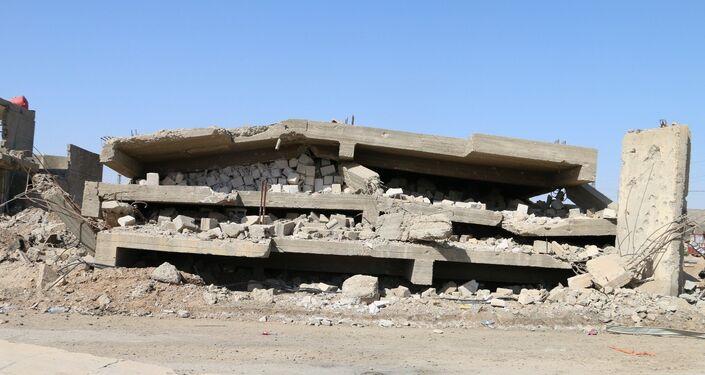 Ruínas são o que resta da cidade iraquiana de Ramadi