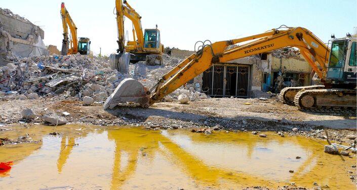Autoridades fazem todo o possível para restaurar rapidamente a cidade de Ramadi