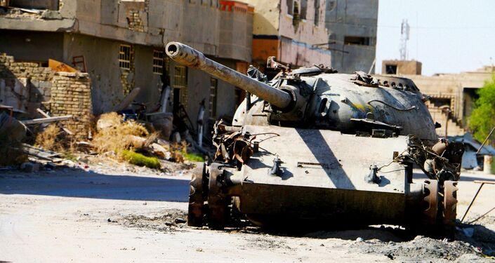 Ramadi - cidade iraquiana já livre de terroristas