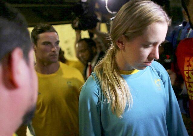 Australianos Ed Jenkins (rugbi) e Lucy Stephan (remo) foram detidos por credenciais adulteradas no Rio-2016