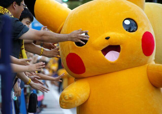 Personagem Pikachu do Pokémon