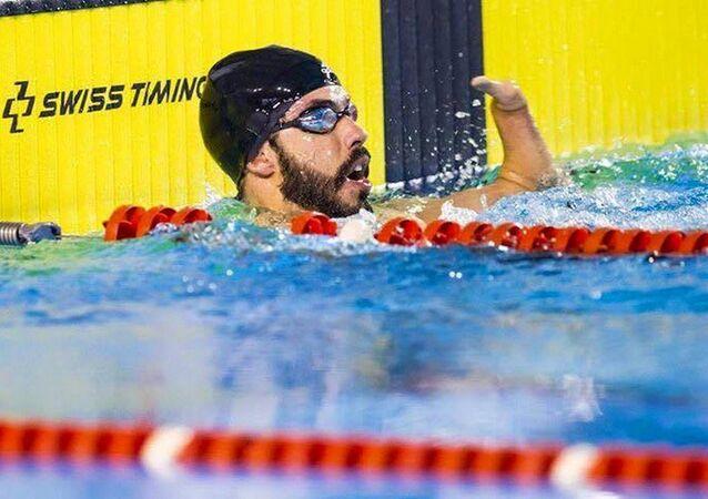 Nadador Paralímpico Daniel Dias é promessa de medalha para o Brasil