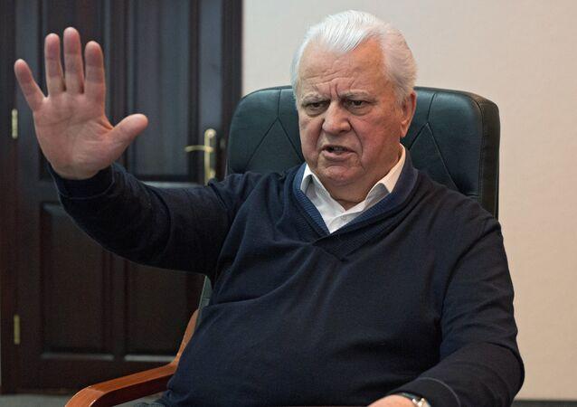 O ex-presidente da Ucrânia Leonid Kravchuk