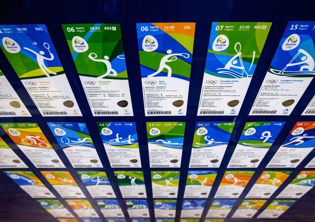 Bilhetes para Jogos Olímpicos e Paralímpicos do Brasil