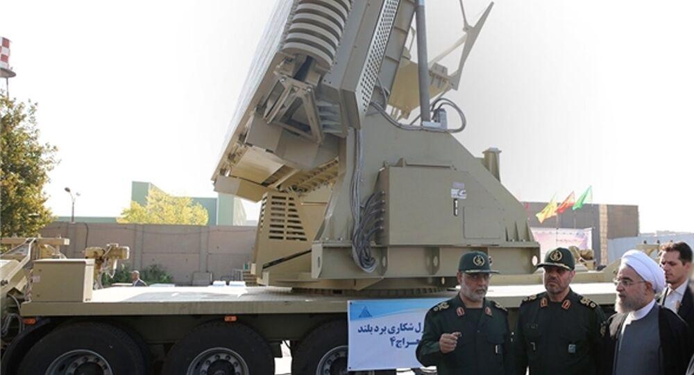 Sistema da defesa antiaérea iraniano Bavar-373