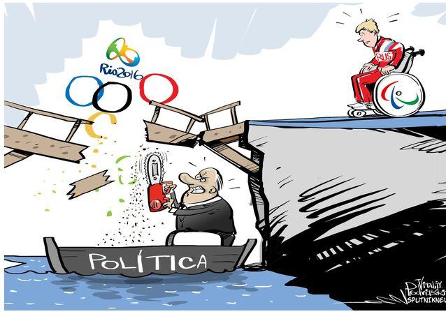 Política quebra sonhos dos atletas paralímpicos russos