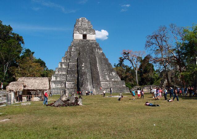 Tikal, povoação dos maias (imagem de arquivo)