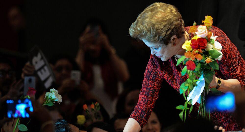 Presidenta afastada do Brasil, Dilma Rousseff