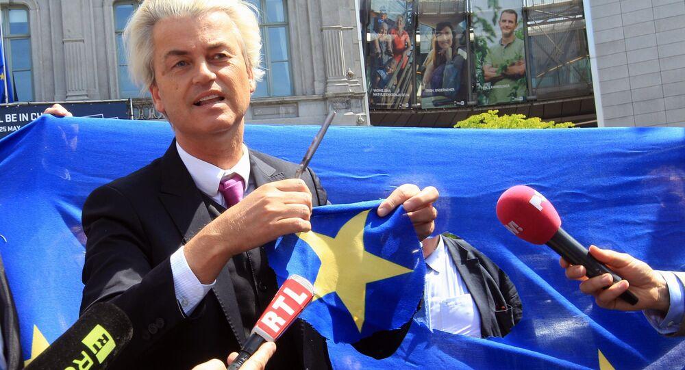 Geert Wilders, do PVV, lidera pesquisa de intenções de voto