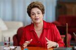 Presidente Dilma Rousseff durante entrevista no Palácio da Alvorada