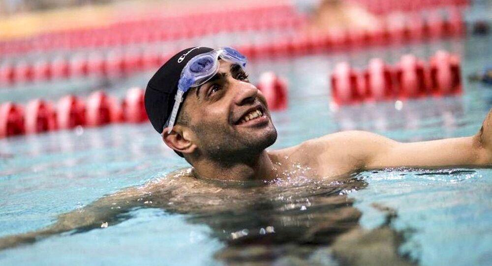 Nos Jogos Paralímpicos, o atleta refugiado sírio Ibrahim vai competir nos 50 e 100 metros nado livre na classe S10