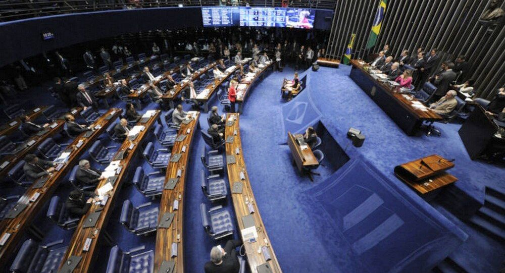 Terceiro dia Julgamento Dilma Rousseff no Senado