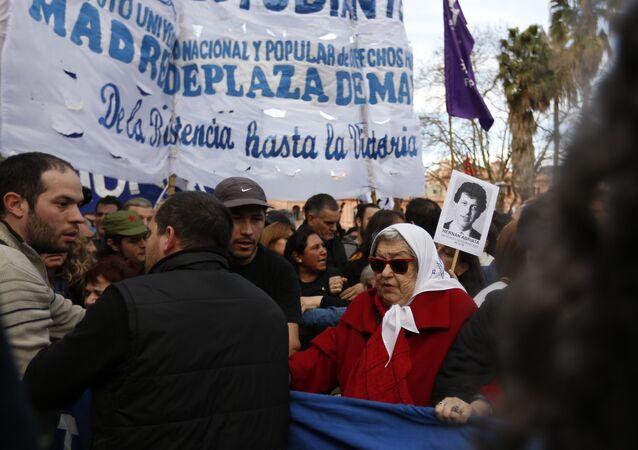 Protesto Argentina