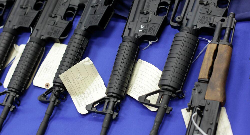 Armas (foto de arquivo)
