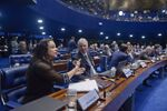 Janaína Paschoal, coautora do pedido de impeachment contra a presidenta Dilma Rousseff