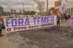 Protesto contra o impeachment de Dilma Rousseff no Ceará