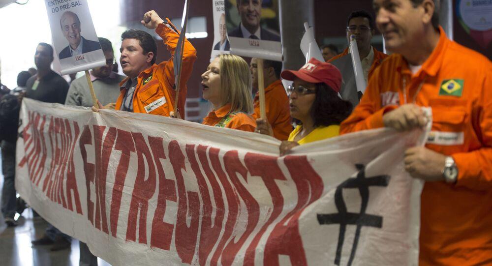 Petroleiros Temer