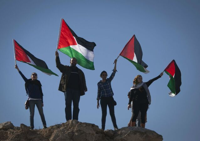 Bandeiras da Palestina.
