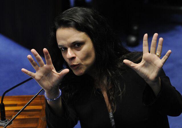 Janaína Paschoal, advogada da acusação no processo de impeachment de Dilma Rousseff