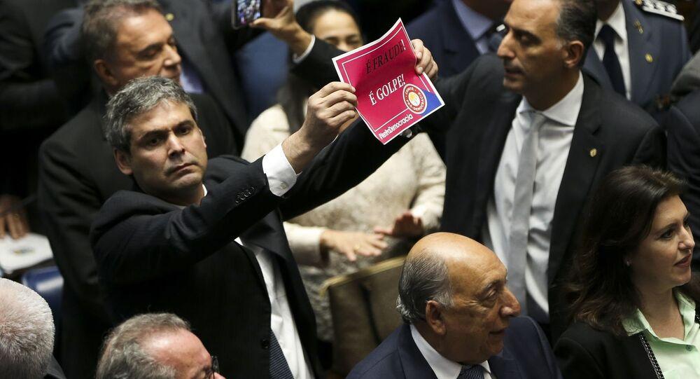 Plenário do Senado decide pelo impeachment de Dilma Rousseff