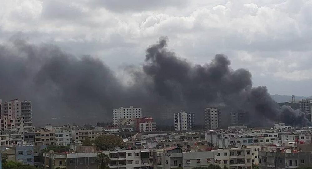Explosões na cidade de Latakia, Síria (foto de arquivo)