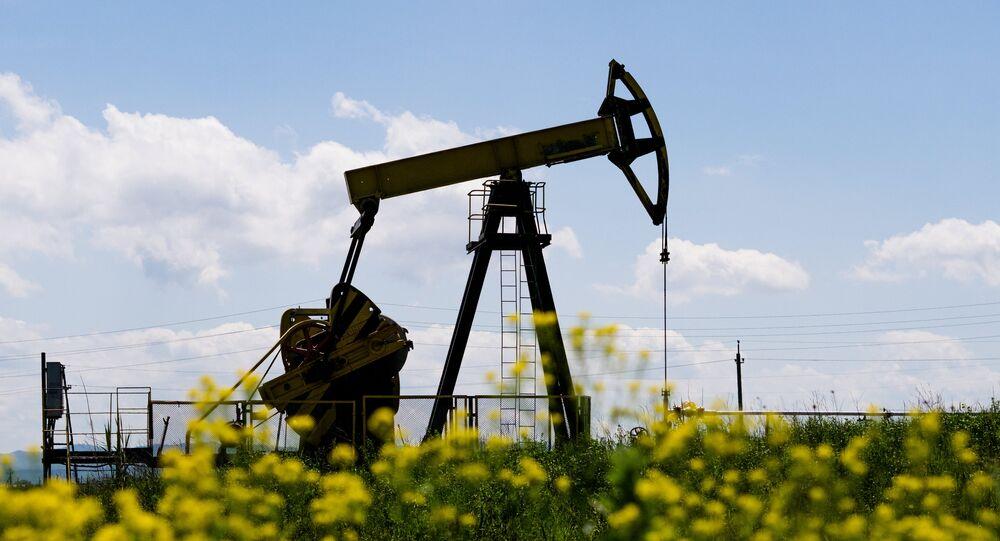 Poço de petróleo na região de Krasnodar, Rússia (foto de arquivo)