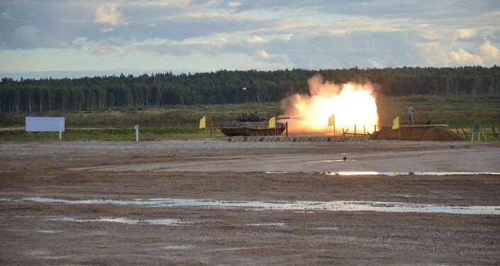 Mostra do equipamento militar no fórum EXÉRCITO 2016. parque Patriot, região de Moscou. 06.09.2016