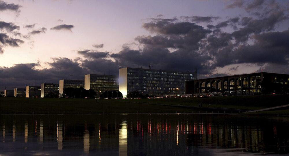 Esplanada dos Ministérios em Brasília (foto de arquivo)