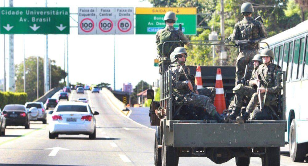 Militares assumem segurança no Rio (foto de arquivo)