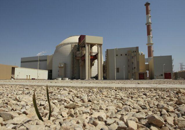 Lançamento do projeto da usina nuclear Bushehr no Irã