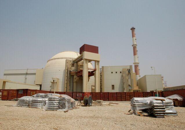 A usina nuclear Bushehr no Irã