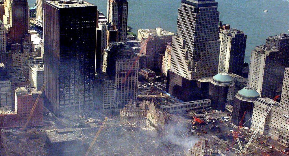 Nova York destruida depois dos atentados terroristas em 11 de setembro (foto do arquivo)